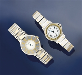 Two lady's wristwatches, by Ca