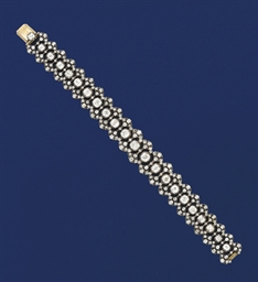 A 19th century diamond flexibl