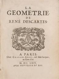 DESCARTES, René (1596-1650). L