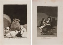 GOYA Y LUCIENTES, Francisco José de (1846-1928) [Los Caprich