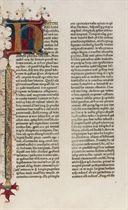 JOSÈPHE, Flavius (37-100). De antiquitate Judaica. -De bello Judaico. Traduit du grec en Latin par Rufinus Aquileiensis (vers 345-410). [Pays-Bas méridionaux (duché de Bourgogne), probablement Bruges: imprimeur éponyme, 1475 ou peu avant].