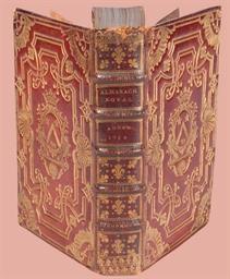 [RELIURE] -- Almanach royal, a