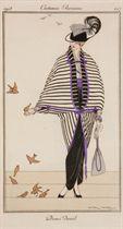 [BARBIER, LEGRAIN, IRIBE, LHUED, etc.] -- Journal des Dames et des modes. Série complète du n° 1 à 79. Paris: Au bureau du Journal des dames, 1er juin 1912-1er août 1914.