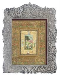 AN INDIAN MUGHAL-STYLE METALWA