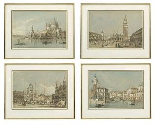 Four Venetian scenes