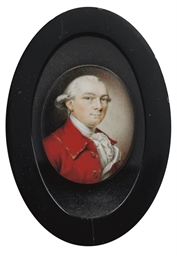 A PORTRAIT MINIATURE ON IVORY