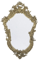 A FRENCH GILT COMPOSITION AND