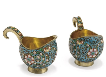 A PAIR OF GILT METALWARE AND C