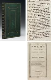 BURNS, Robert (1759-1796). Poe
