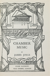 JOYCE, James (1882-1941). Cham