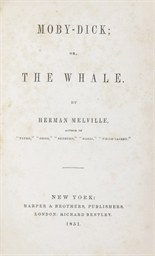 MELVILLE, Herman. Moby-Dick; o