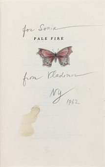 NABOKOV, Vladimir. Pale Fire. New York: Putnam, 1962.