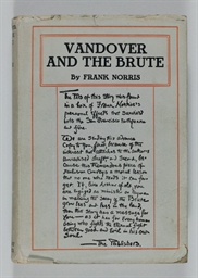 NORRIS, Frank. Vandover and th