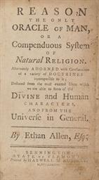 ALLEN, Ethan (1738-1789). Reas