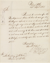BEAUREGARD, P.G.T. Letter sign
