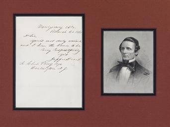DAVIS, Jefferson (1808-1889),