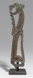 A MEOTIAN-SCYTHIAN BRONZE BRID