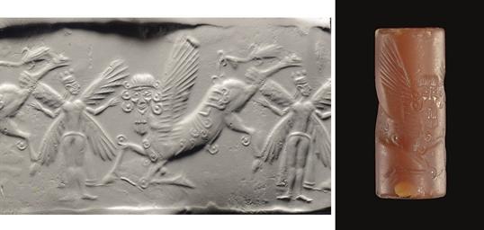 A NEO-BABYLONIAN CARNELIAN CYL