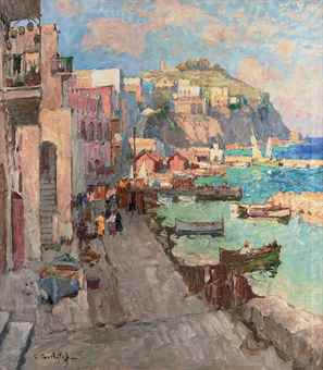 Fishing village, Capri