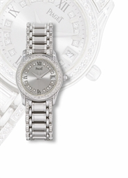 PIAGET  LADY'S WHITE GOLD AND