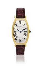 CARTIER, TONNEAU  YELLOW GOLD