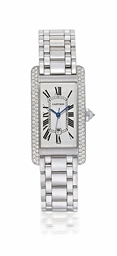 CARTIER, TANK AMÉRICAINE  LADY