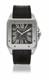 CARTIER, SANTOS 100  STAINLESS