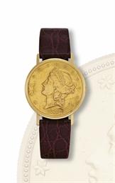 JUVENIA  YELLOW GOLD COIN FORM
