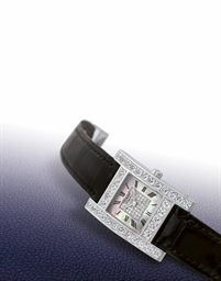 CHOPARD  LADY'S WHITE GOLD AND