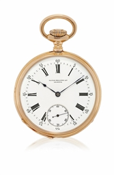 PATEK PHILIPPE  PINK GOLD OPEN