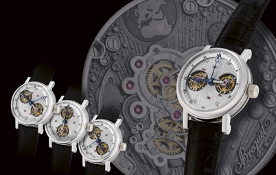 BREGUET, DOUBLE TOURBILLON, RE