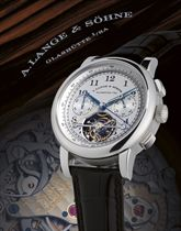 "A. LANGE & SÖHNE, TOURBOGRAPH ""POUR LE MÉRITE""  PLATINUM MANUALLY-WOUND TOURBILLON DOUBLE SPLIT SECONDS CHRONOGRAPH WRISTWATCH WITH POWER RESERVE INDICATION, LIMITED EDITION OF 51"