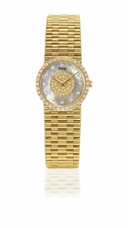 PIAGET  LADY'S YELLOW GOLD AND