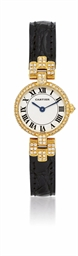 CARTIER  LADY'S YELLOW GOLD AN
