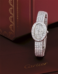 CARTIER, BAIGNOIRE  LADY'S WHI