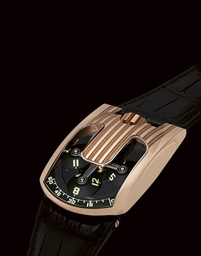 URWERK, UR-103  PINK GOLD AND