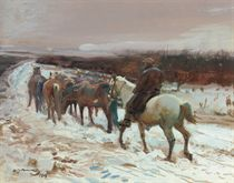 Sir Alfred James Munnings, P.R.A., R.W.S., (1878-1959)