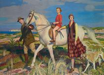 'Four Loves I found, a Woman, a Child, a Horse and a Hound'