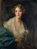 Portrait of Mrs. Francis Lindley Gull, later Mrs Morgan-Grenville, neé Elizabeth (Betty) Renshaw