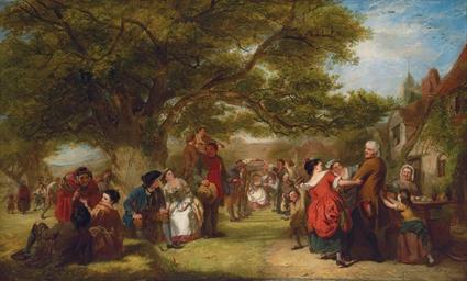 An English Merrymaking a Hundr