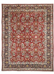 A fine Kirman carpet