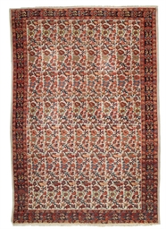 A fine Senneh-Malayir rug & Se