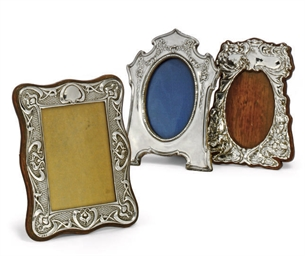A GROUP OF THREE EDWARDIAN SIL
