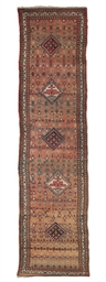 An antique West Persian runner