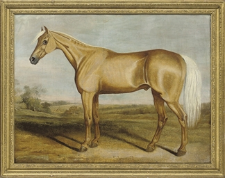 THE RACEHORSE SILVERTAIL STAND