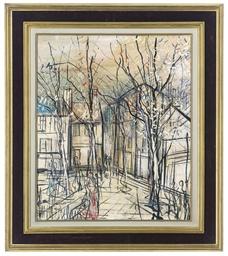 Rue Norvins, place du Tertre,