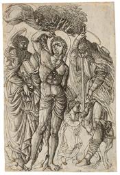 Saints Sebastian, Anthony, and
