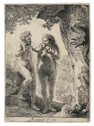 Adam and Eve (B., Holl. 28; Hi