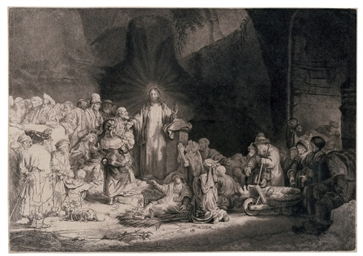 Christ healing the Sick: 'The