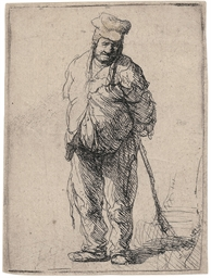 A ragged Peasant with his Hand